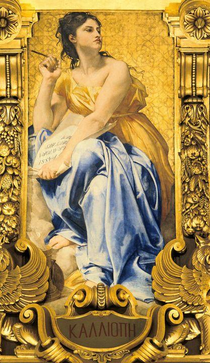 Paul-Jacques-Aimé Baudry~Calliope - Old classic art