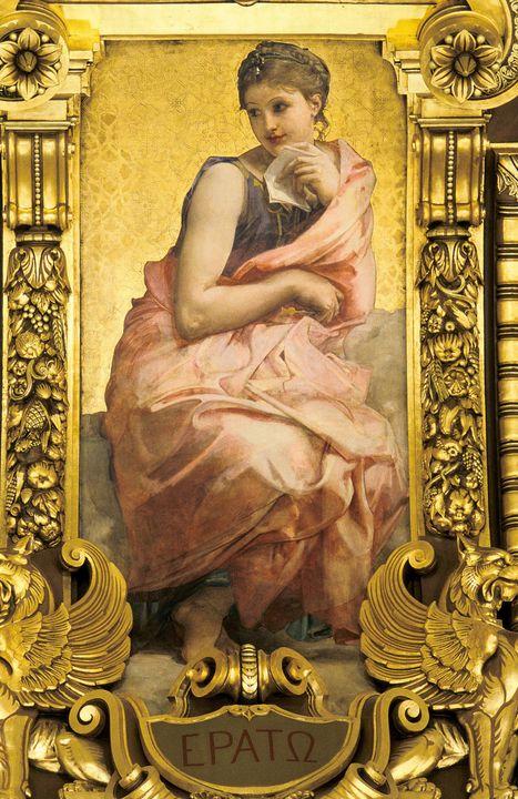 Paul-Jacques-Aimé Baudry~Erato - Old classic art
