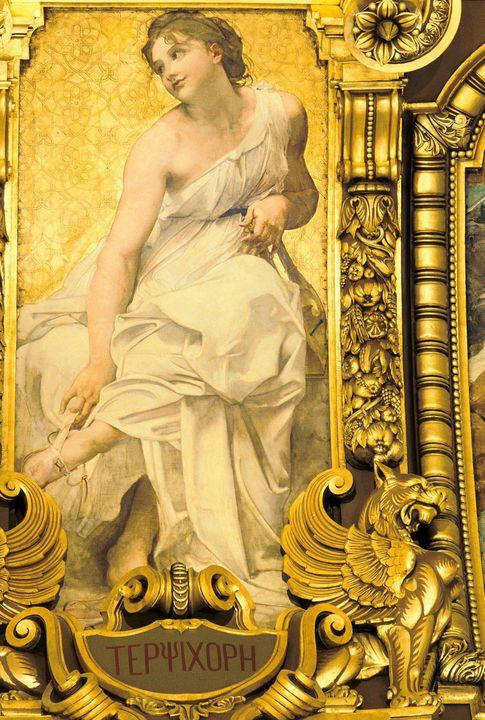 Paul-Jacques-Aimé Baudry~Terpsichore - Old classic art