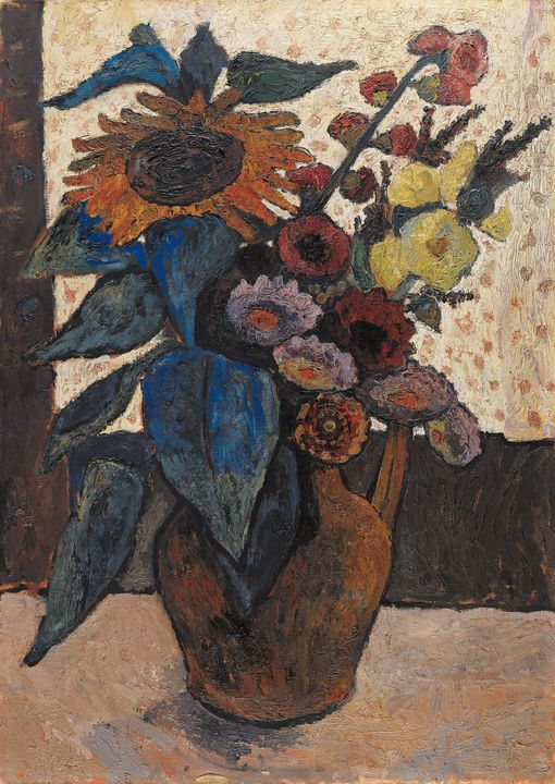 Paula Modersohn-Becker~Still life wi - Old classic art