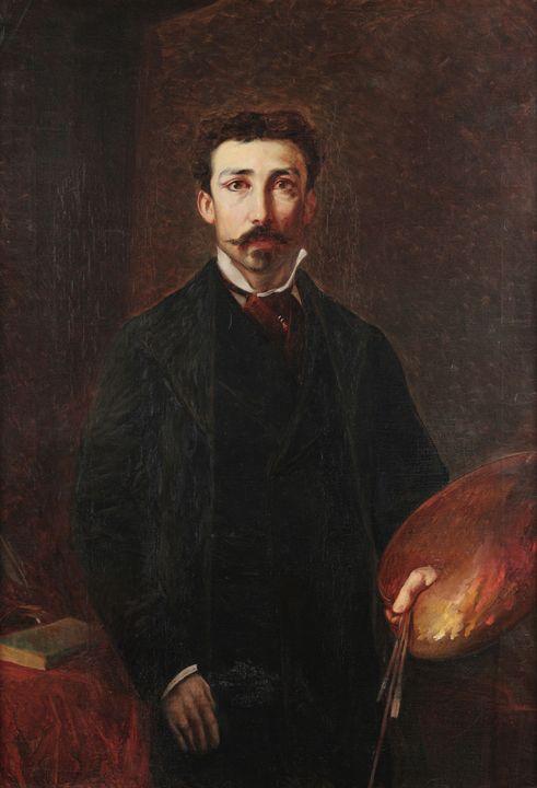 Pedro Américo~Autorretrato - Old classic art
