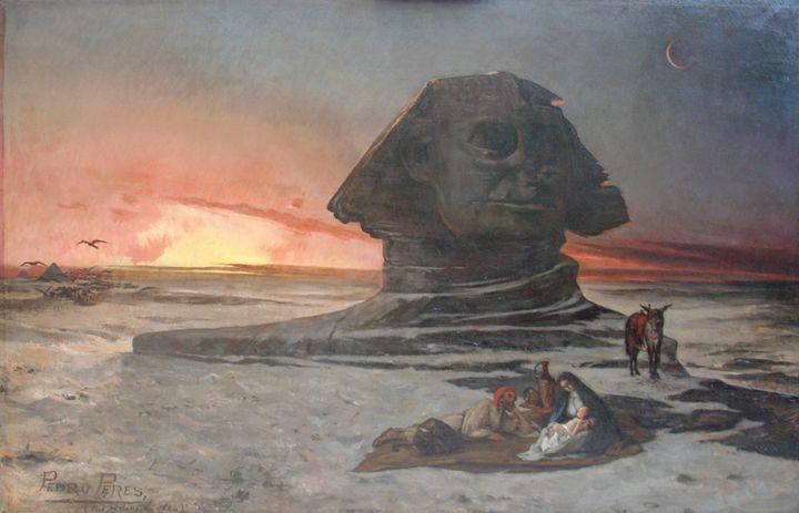 Pedro Peres~Fuga para o Egito - Old classic art