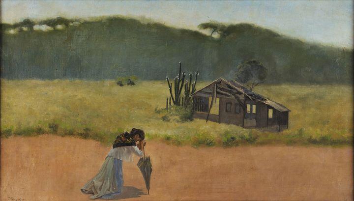 Pedro Weingärtner~Devasted - Old classic art
