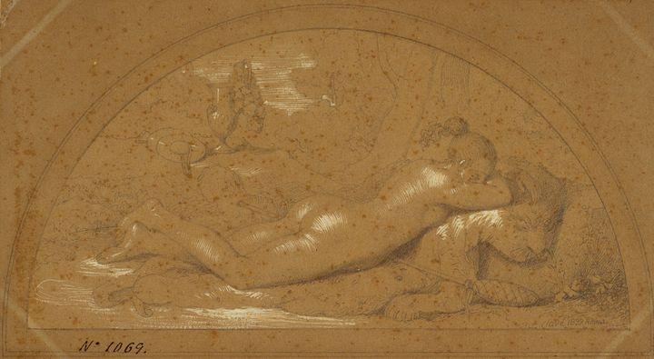 Pelegrí Clavé~Female Nude - Old classic art