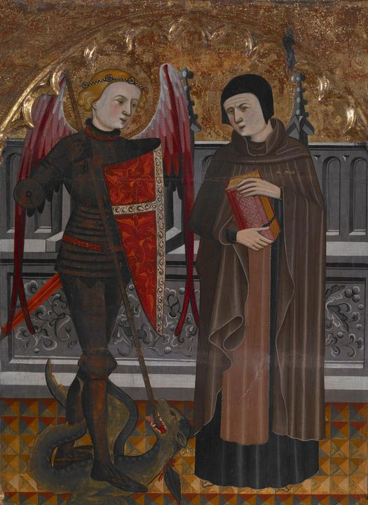 Pere Vall (Spanish, 1380-1480)~St. M - Old classic art