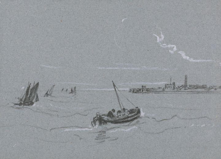 Peter Dai Wen~Sea Study - Old classic art