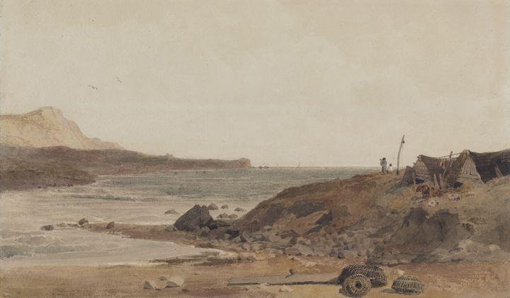 Peter De Wint~Coast Scene - Old classic art