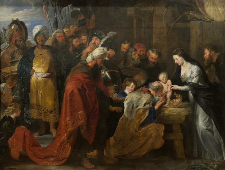 Peter Paul Rubens~Adoration of the M - Old classic art