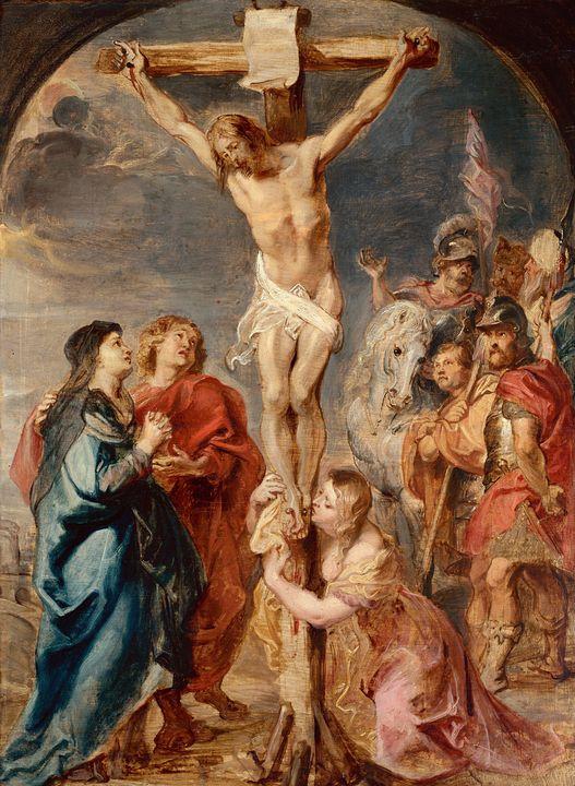 Peter Paul Rubens~Christ on the Cros - Old classic art