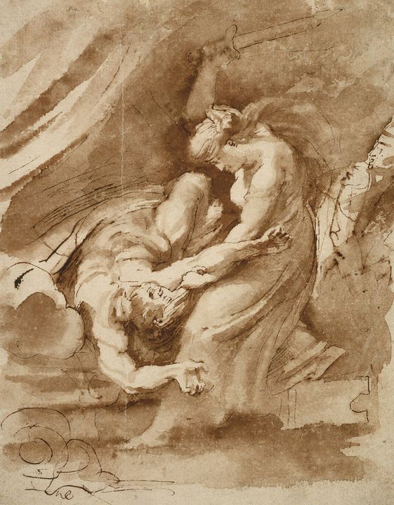 Peter Paul Rubens~Judith Beheading H - Old classic art