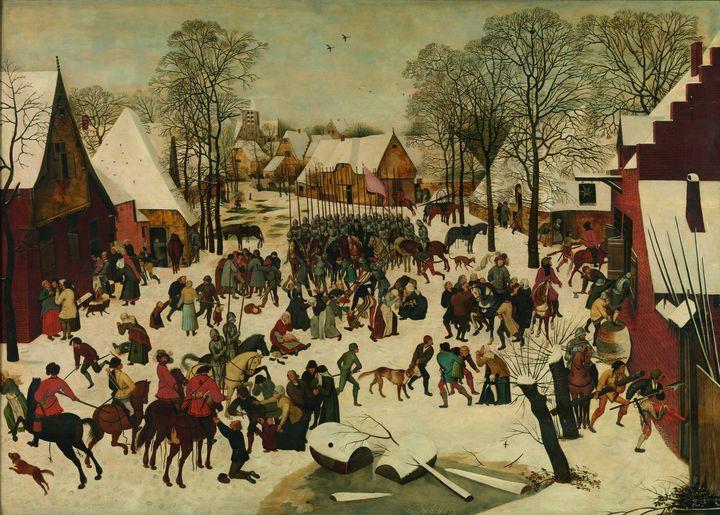 Pieter Brueghel II (according to Pie - Old classic art