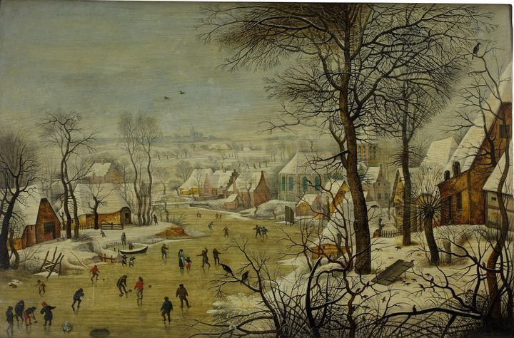Pieter Brueghel the Younger~Winter l - Old classic art