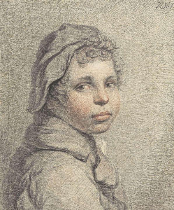Pieter Christoffel Wonder~Studiekop - Old classic art