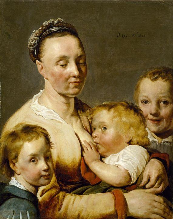 Pieter de Grebber~Charity - Old classic art
