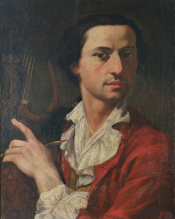 Pietro Fancelli~Portrait of Giacomo - Old classic art