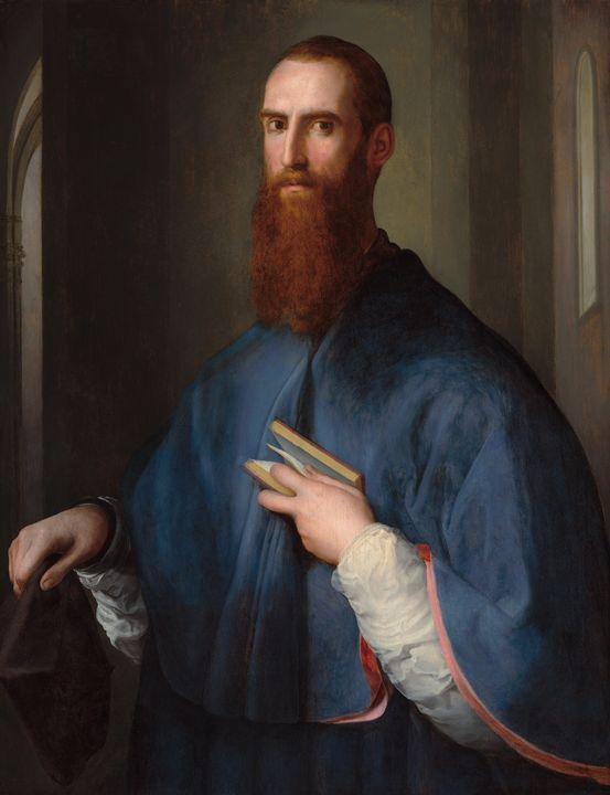Pontormo~Monsignor della Casa - Old classic art