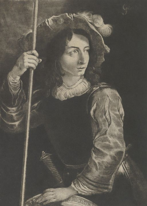 Prince Rupert of the Rhine, Pietro d - Old classic art