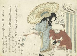 Ryūryūkyo Shinsai~Sneeuw verwijderen