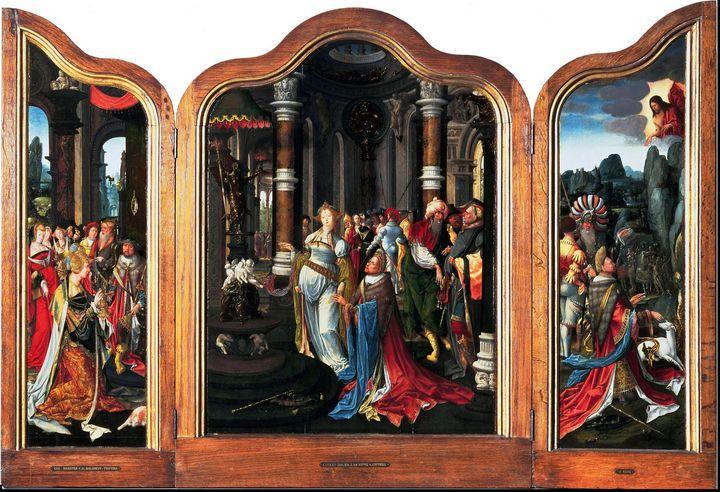Master of the Salomon triptych~Tript - Old classic art