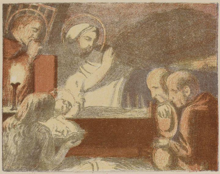 Maurice Denis~Nativity - Old classic art