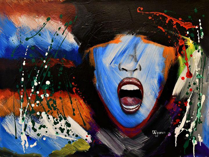 Frustration - Alema Art