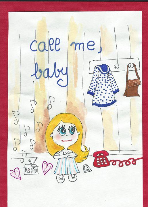 Call me baby - YU CUSTOMIZED ART