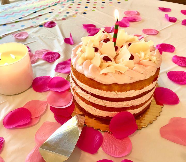 Crumptious Cake and Petals - toksabukadesign