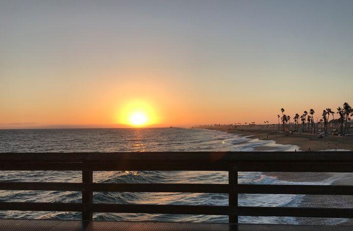 Sunset on Peer - toksdesign