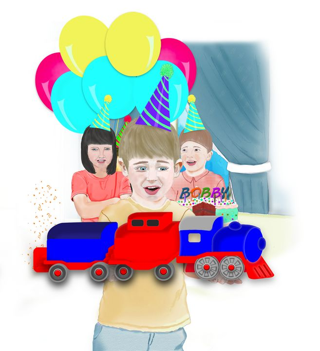 Toy Train for Your Birthday! - toksdesign