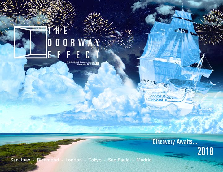 Discovery Awaits Campaign Ad 1 - The Doorway Effect Apparel Company