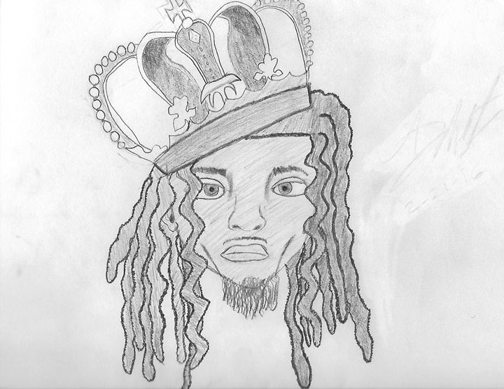 Black King - From The Mind of AJ Wooten