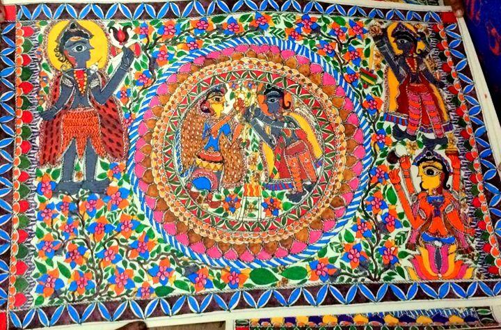 Madhubani Painting - Urban Hauz