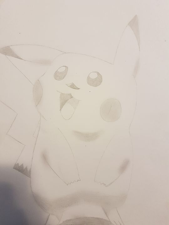 Pickachu - colby's drawings