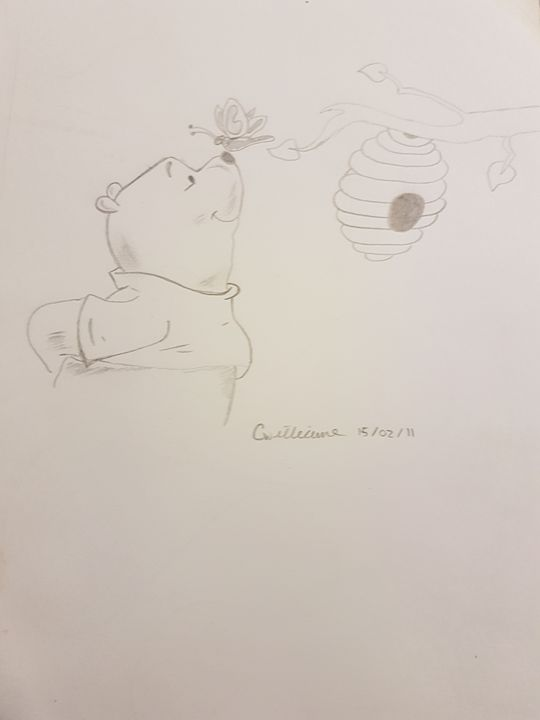 Winnie the pooh - colby's drawings