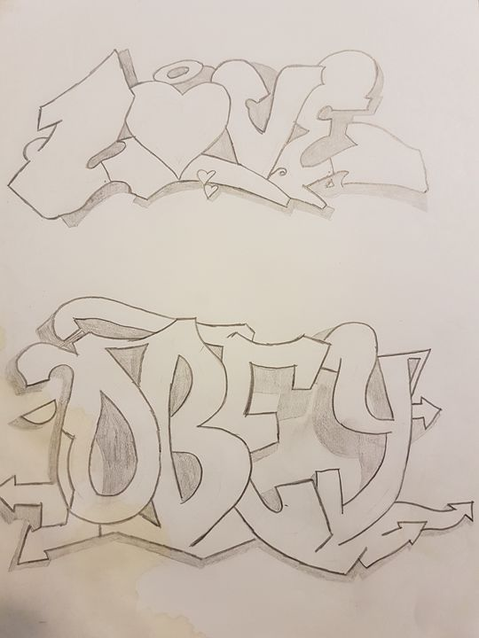 Graffiti - colby's drawings