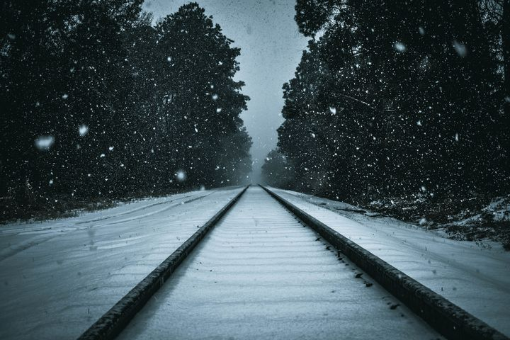 Snowy Tracks - Heretic's Gallery