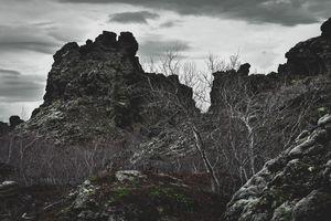 Crags of Dimmuborgir