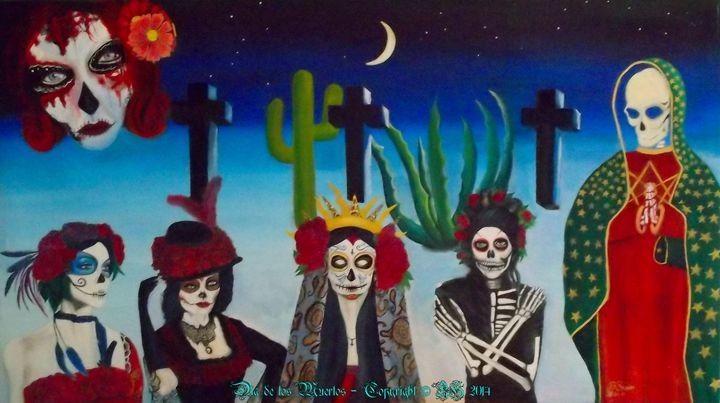 Dia de los Muertos - Bob Swan Art