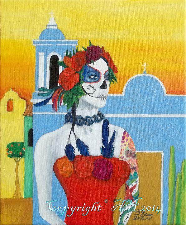 Dia de los Muertos II - Bob Swan Art