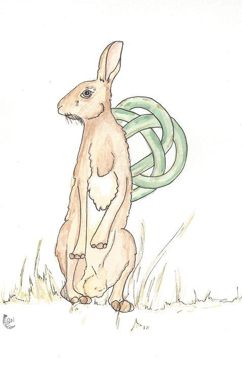 Celtic Hare - Rachel Newman