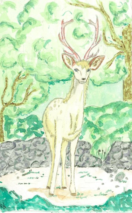 Fae Deer - Rachel Newman