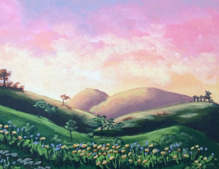 Wildflowers in Spring - Susannah Helene Art