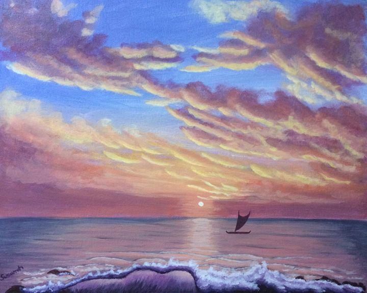 Island Dreams - Susannah Helene Art
