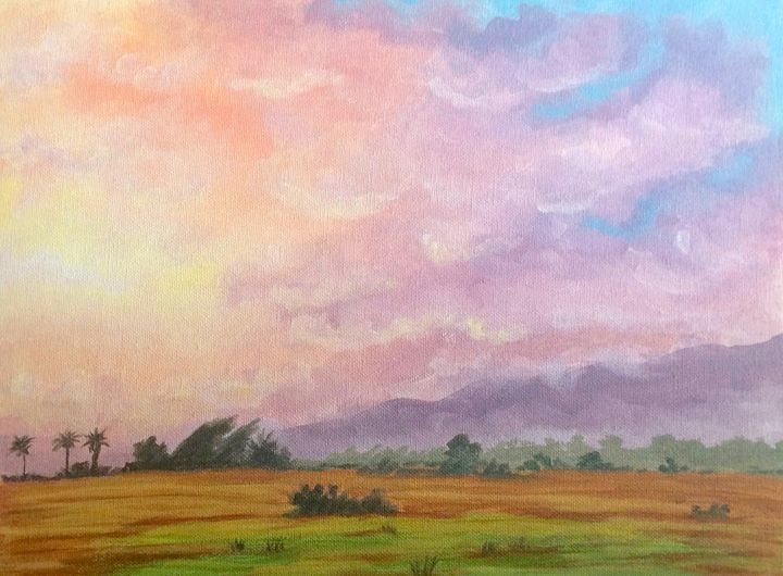 California Sunset - Susannah Helene Art