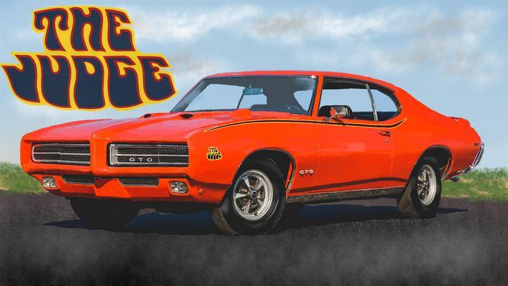 1969 Pontiac GTO Judge - JPAutoArt