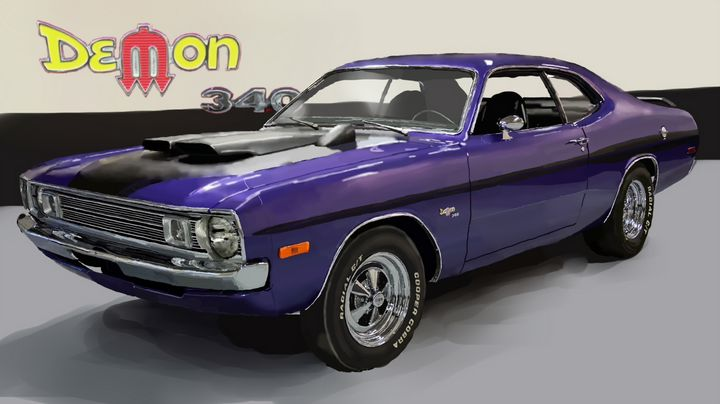 1972 Dodge Demon - JPAutoArt