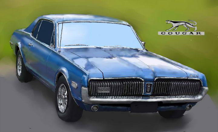 1968 Mercury Cougar - JPAutoArt