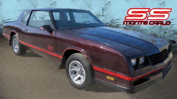 1988 Chevrolet Monte Carlo SS - JPAutoArt