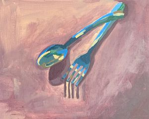 Fork and Spoon - Inspired Abstracts