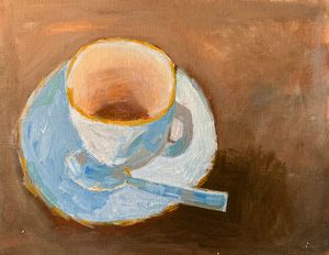 The Teacup - Inspired Abstracts
